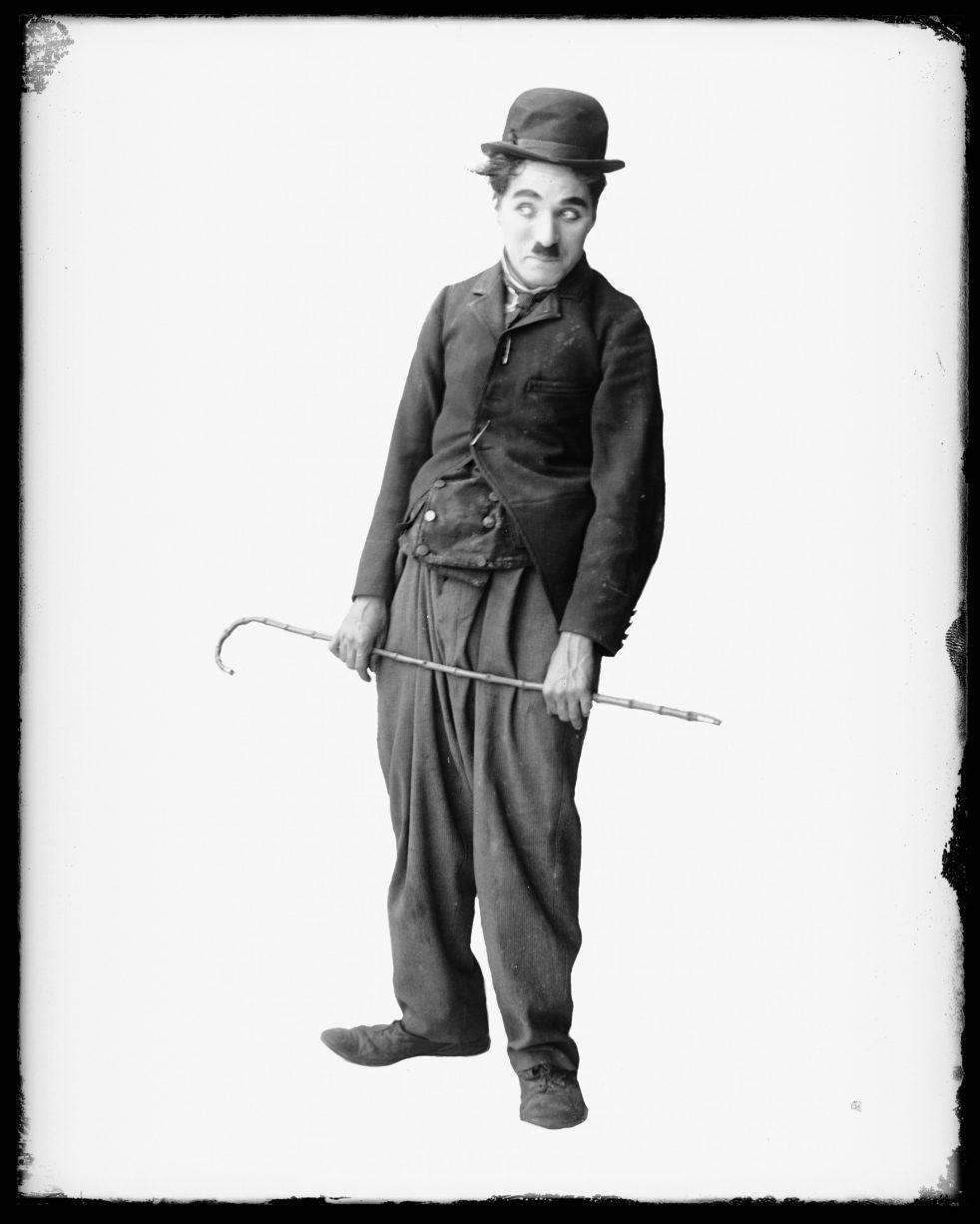 An image of Charlie Chaplin.