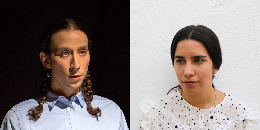 Head shots of Emilio Martinez Poppe and Emmanuela Soria Ruiz.