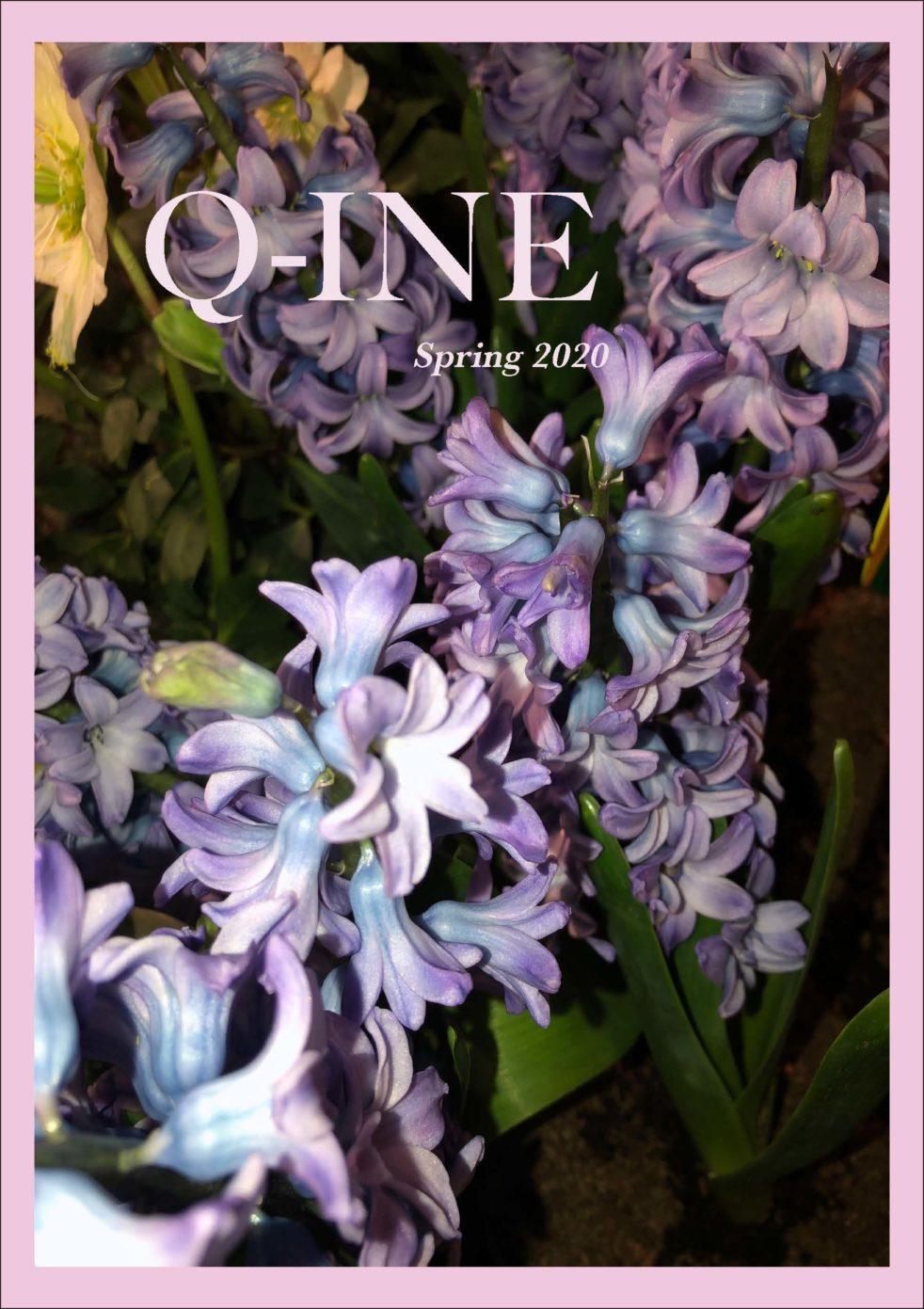 Cover image of Q-INE magazine