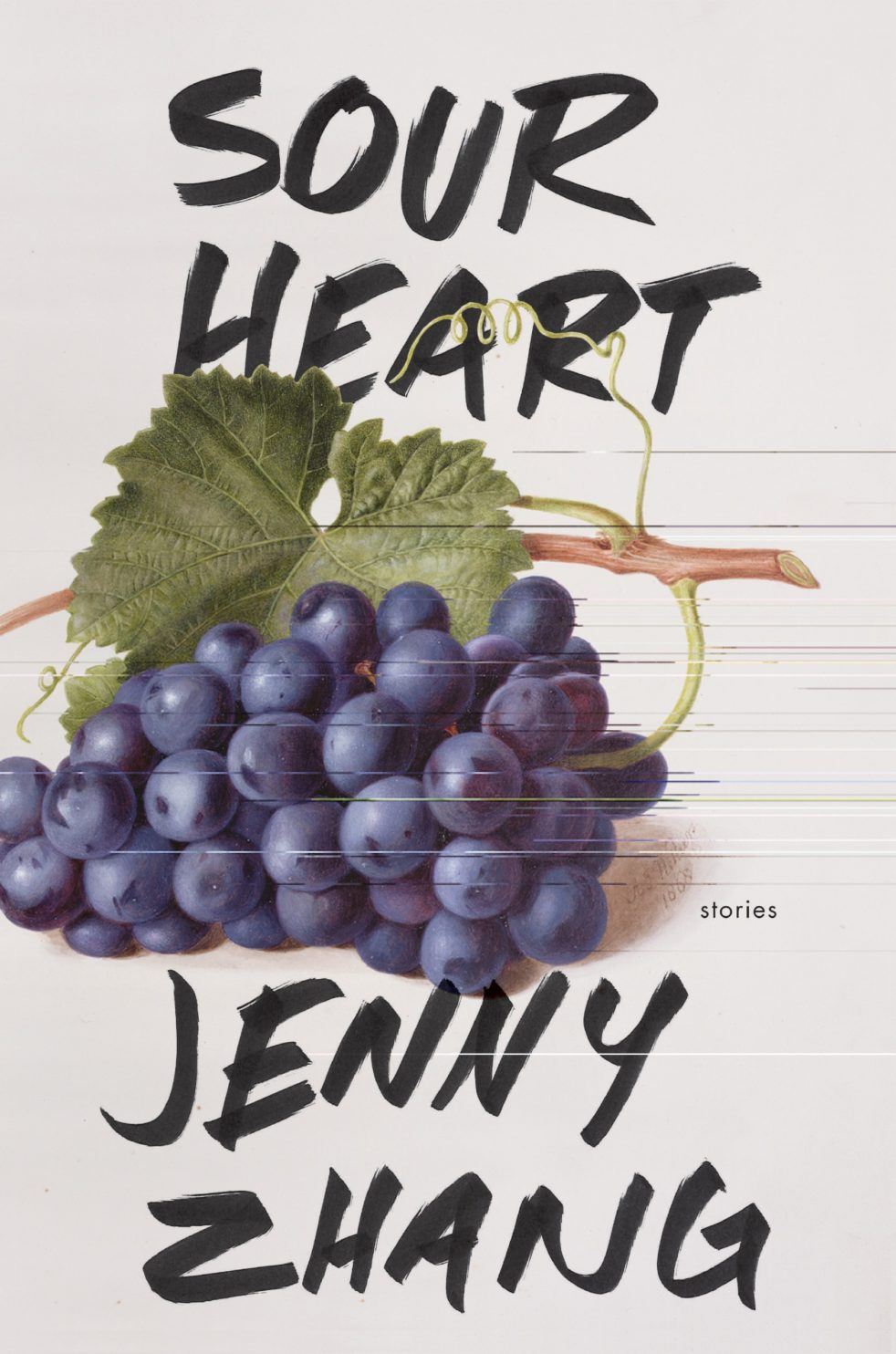The cover of Jenny Zhang's book Sour Heart.