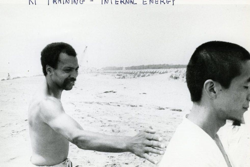Still from Milford Graves Yara Martial Arts Movements film series