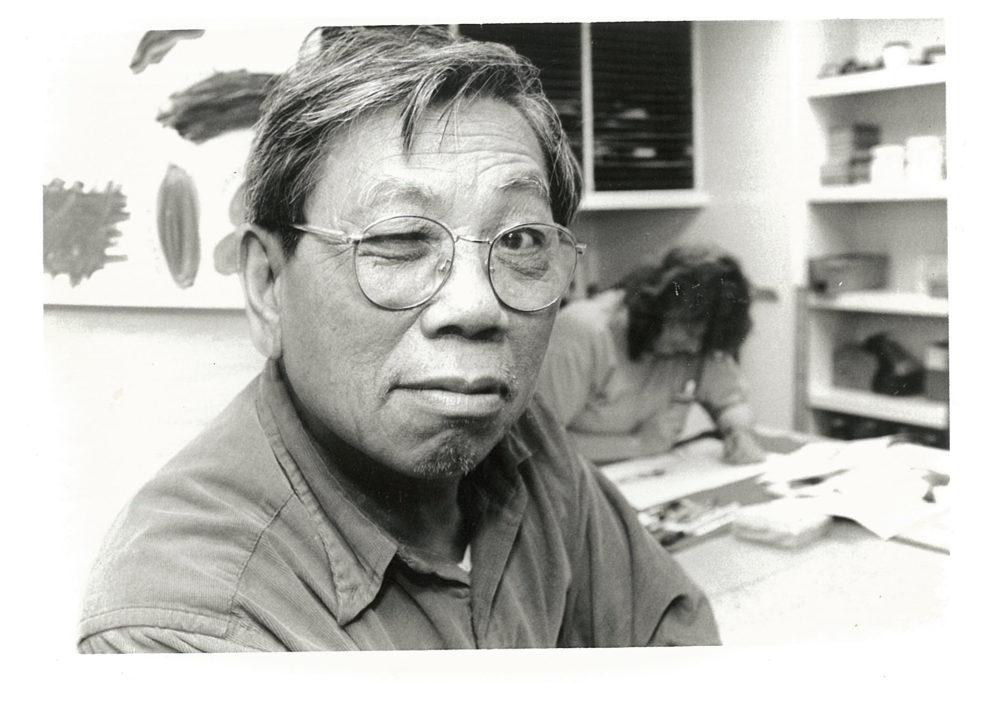 Portrait of the artist Chen Lok Lee